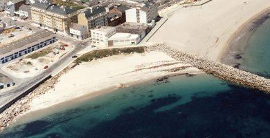 Playa Penoural en Burela