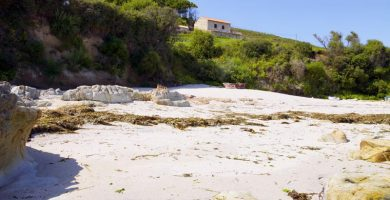 Playa Pereiro en Cambados