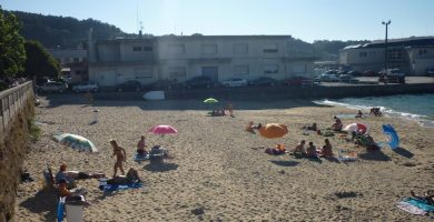 Playa Pescadoira en Bueu
