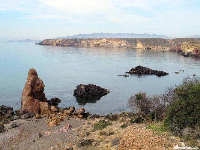 Playa Piedra Mala en Mazarrón