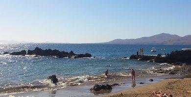 Playa Pila de la Barrilla en Tías