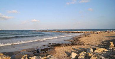 Playa Pinedo en Valencia