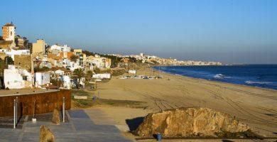 Playa Pla de Montgat en Montgat