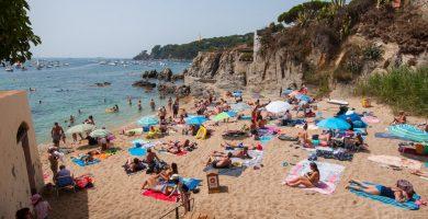 Playa Platgeta en Palafrugell