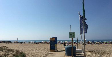 Playa Platja de la Murtra en Viladecans