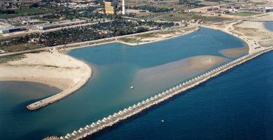 Playa Platja de les Salines en Cubelles