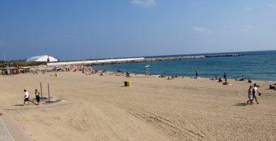 Playa Platja de Llevant en Santa Susanna