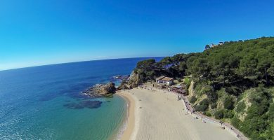 Playa Platja de Lloret en Lloret de Mar