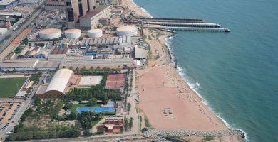 Playa Platja del Litoral en Sant Adrià de Besòs