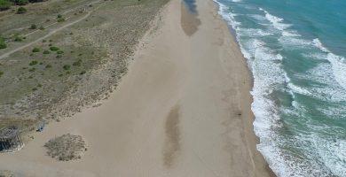Playa Platja del Remolar en Viladecans