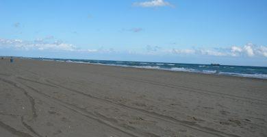 Playa Platja dels Militars en El Prat de Llobregat