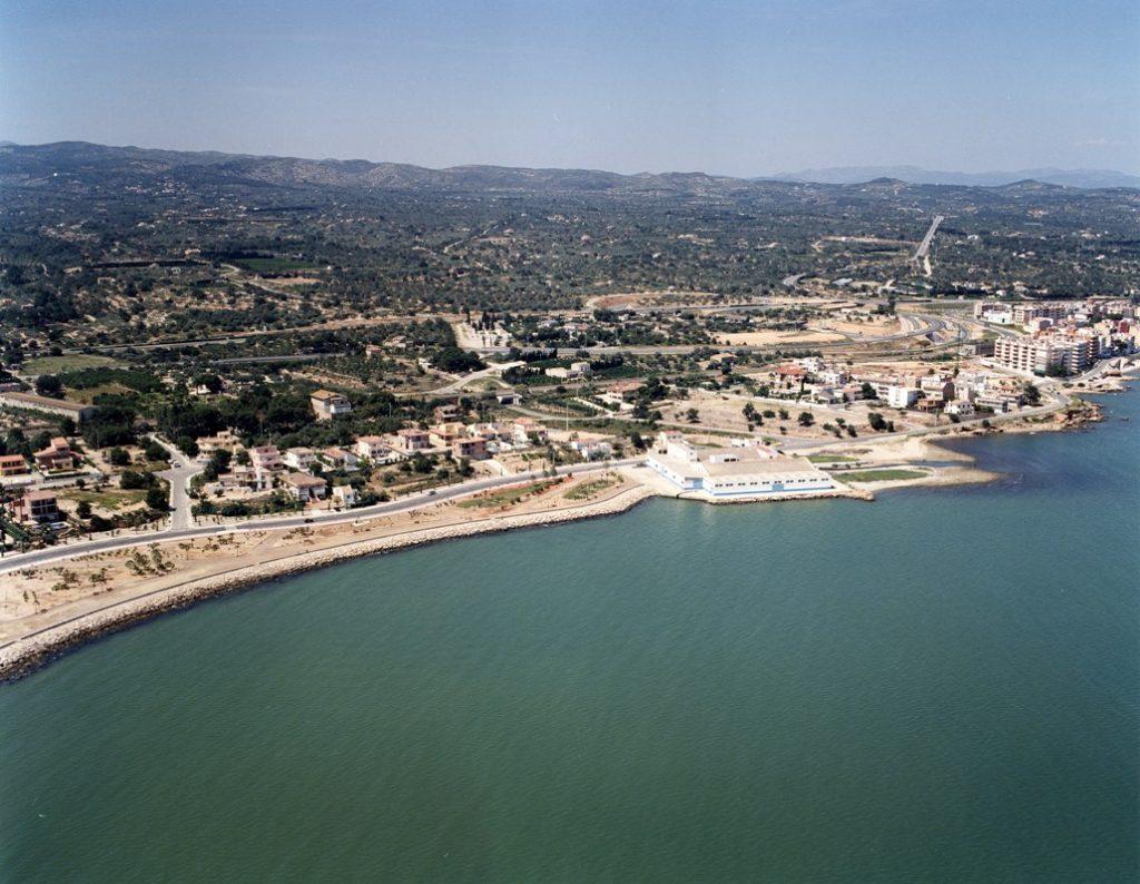 Playa Platja dels Pinets en L'Ampolla