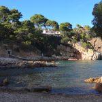 Playa Platja d'en Malaret en Begur