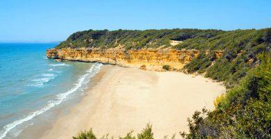 Playa Platja Fonda en Tarragona