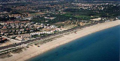 Playa Platja Llarga en Salou