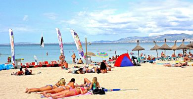 Playa Platjes de S'Olla en Palma de Mallorca