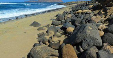Playa Playa Baja del Ganado en Teguise