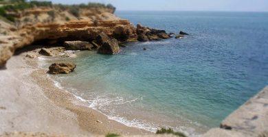 Playa Playa D'Aiguaoliva en Vinaròs