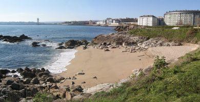 Playa Playa de Adormideras en A Coruña