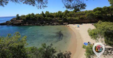 Playa Playa de Calafat en L'Ametlla de Mar