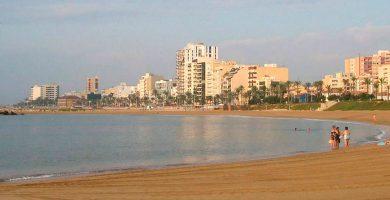 Playa Playa de Fora del Forat en Vinaròs