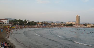 Playa Playa de La Puñeta en Mazarrón