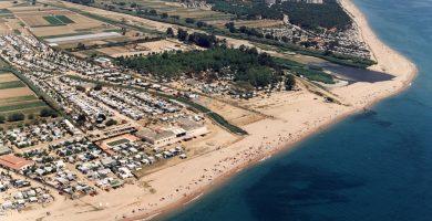 Playa Playa de la Punta de la Tordera en Malgrat de Mar