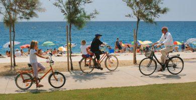 Playa Playa de La Riera en Pineda de Mar