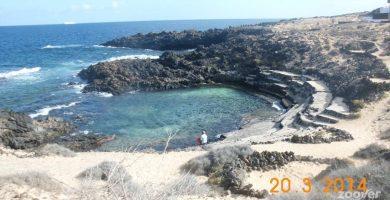 Playa Playa de Punta del Palo en Haría