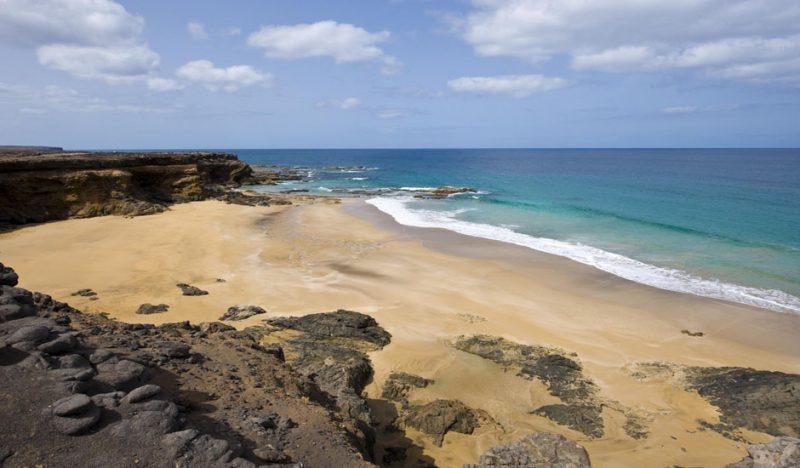 Playa Playa del Aguila en La Oliva
