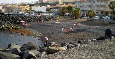 Playa Playa del Alcalde en Candelaria