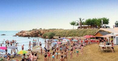 Playa Playa del Clot en Vinaròs