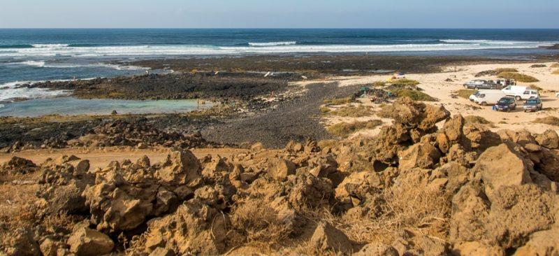 Playa Playa del Hierro en La Oliva