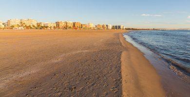 Playa Playa del Puerto en Corcubión