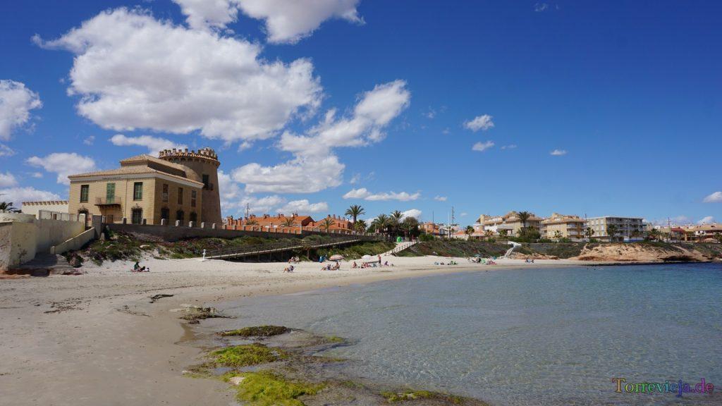 Playa Playa del Río en Pilar de la Horadada