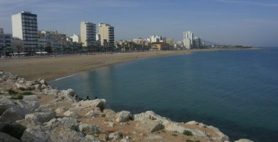 Playa Playa del Riu Cervol en Vinaròs