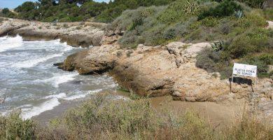 Playa Playa dels Cossis en Vinaròs