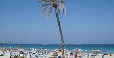 Playa Playa d'en Bossa en Eivissa