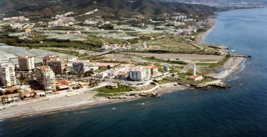 Playa Playa El Sillón en Torrox