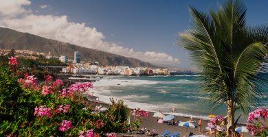Playa Playa Jardín en Puerto de la Cruz
