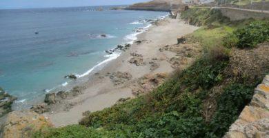 Playa Playa Santa Catalina en Ceuta