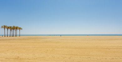 Playa Playa Serena en Roquetas de Mar