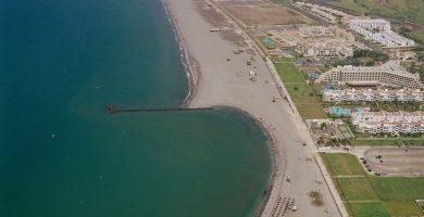 Playa Poniente Almerimar en El Ejido
