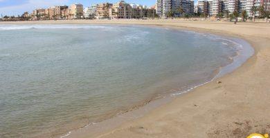 Playa Port de Sagunt en Sagunto
