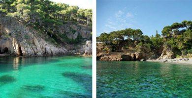 Playa Port d'Esclanyà en Begur