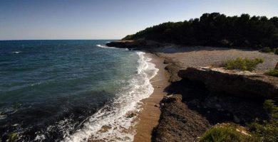 Playa Port Olivet en L'Ametlla de Mar