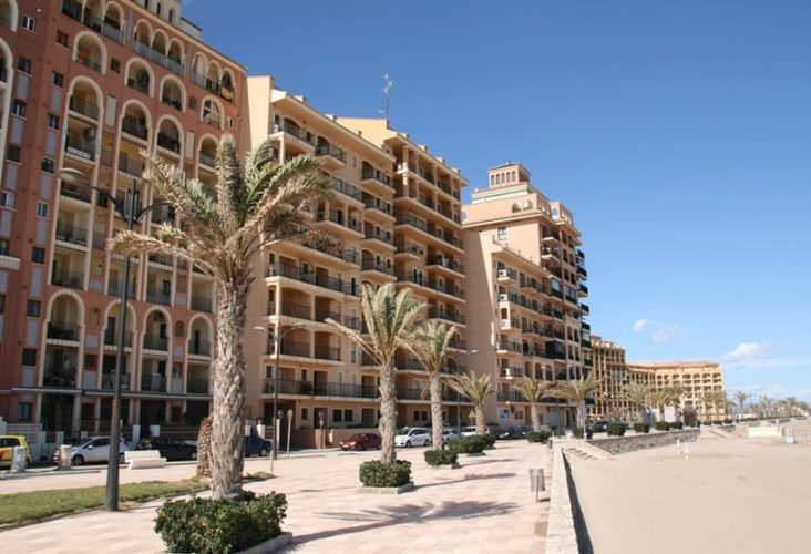 Playa Port Saplaya en Alboraya