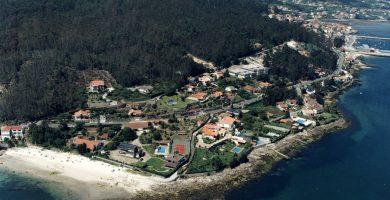 Playa Porteira en Poio