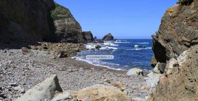 Playa Portiella en Cudillero