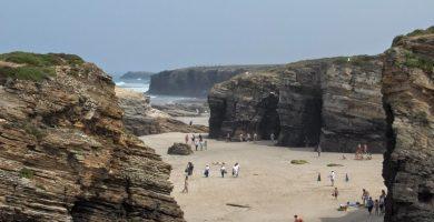 Playa Portiño de A Devesa en Ribadeo
